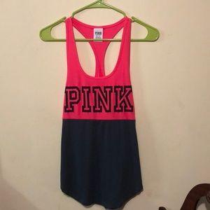 PINK Victoria's Secret Tops - Victoria secret pink racer back workout tank top